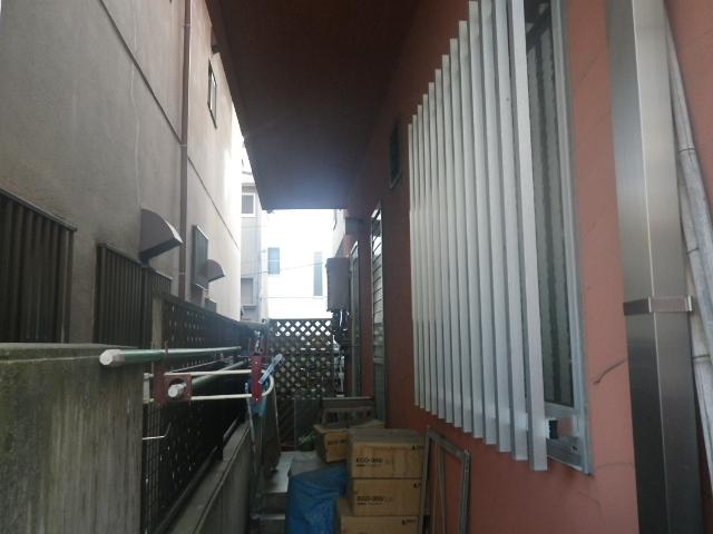 ガス給湯器取替工事 (神戸市東灘区) 取替前①