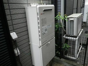 ノーリツ GT-2050SAWX-2 + 配管カバ-H32-K450